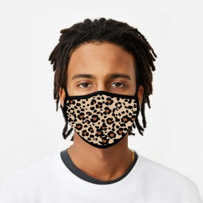 Leopard Print Deluxe Cloth Face Mask