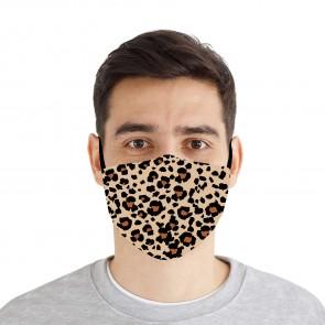 Leopard Print Premium Cloth Face Mask