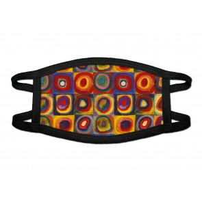 Squares and Circles Deluxe Face Mask Cloth
