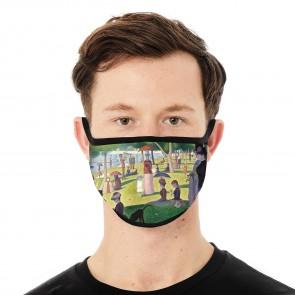 Island of La Grande Jatte Deluxe Face Mask Cloth