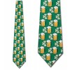 Beer and Clovers Necktie