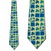 Clover Blocks Necktie